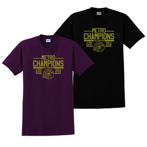 ALHS Metro Champions on Dark T-Shirt