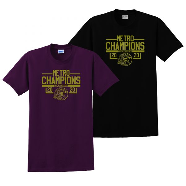 ALHS Metro Champions on Dark T-Shirt